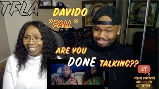 Davido - Fall (Official Music Video ) | (THATFIRE LA) Reaction