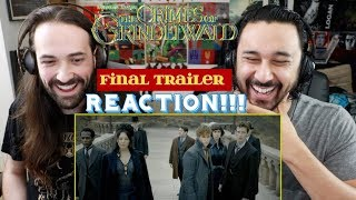 FANTASTIC BEASTS: The Crimes of Grindelwald - Final Trailer REACTION & REVIEW!!!