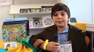 We hear from 11 year old Author and Illustrator Aedan Lias...