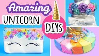 3 Magical Unicorn Themed DIYS   Unicorn Decor