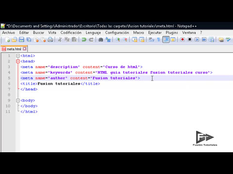 HTML - Etiqueta META y motores de busqueda - 17