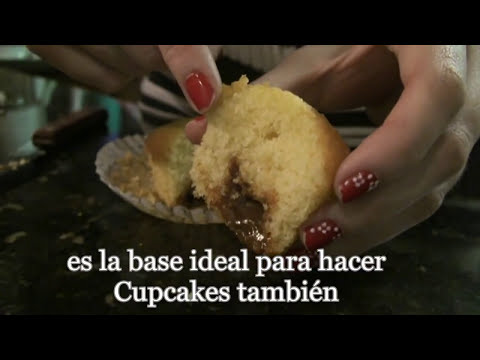 RECETA - Magdalenas de Vainilla y Dulce de leche