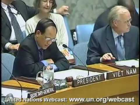 MaximsNewsNetwork: AFGHANISTN: Amb LE LUONG MINH UN SECURITY COUNCIL PRESIDENT