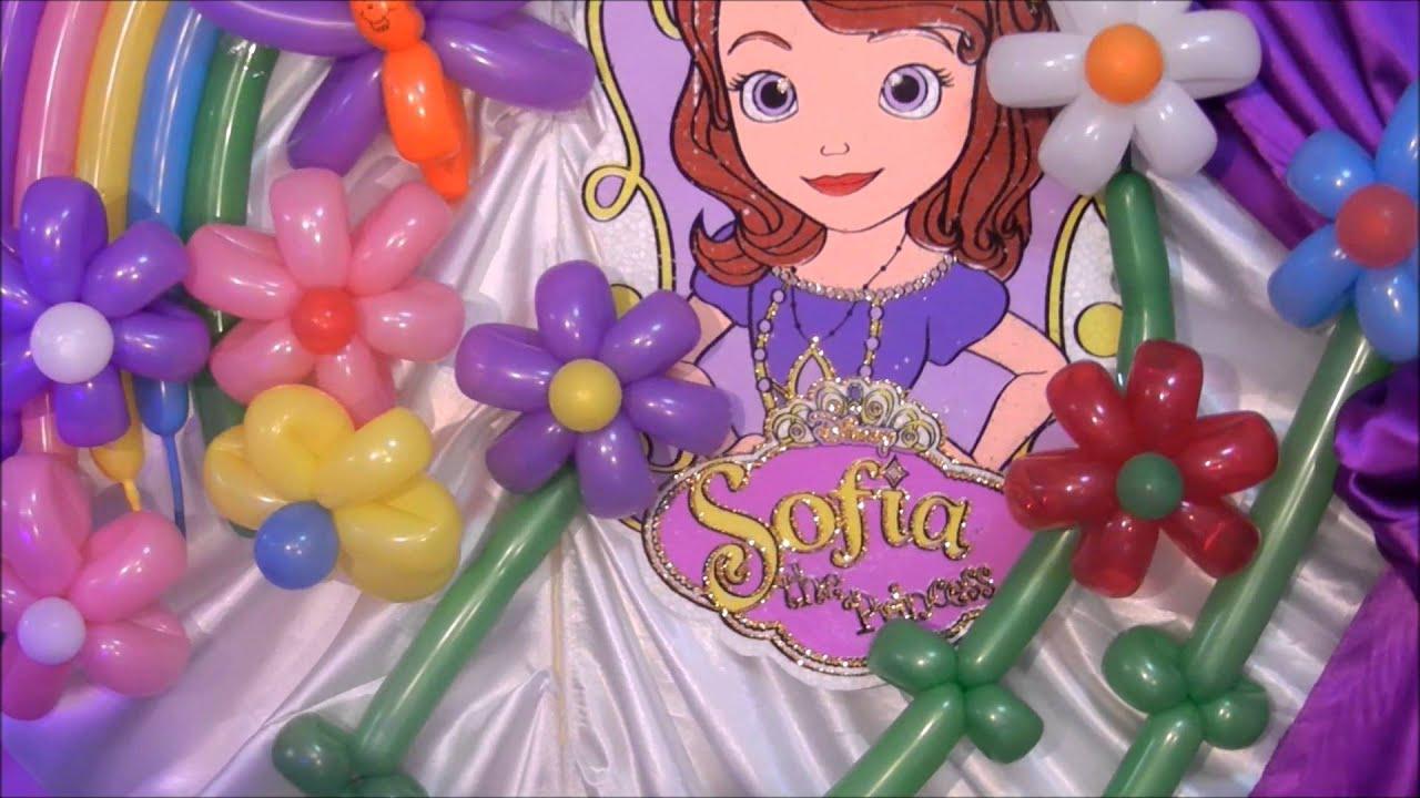 Decoracion De La Princesa Sofia