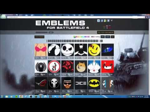 How To Get Awesome Battlefield 4 Emblems