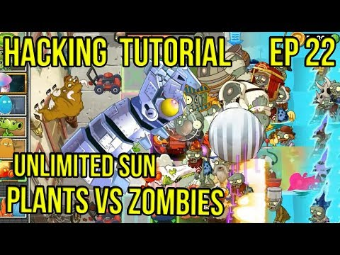 Hacking Tutorial: Plants VS Zombies | Unlimited Sun | Let's Pointer Scan with Cheat Engine!