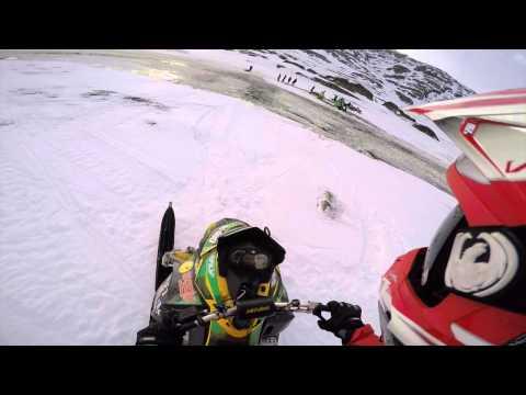 Arctic Cat 800 rr water skipping