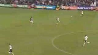 David James goes up front (lol funny)