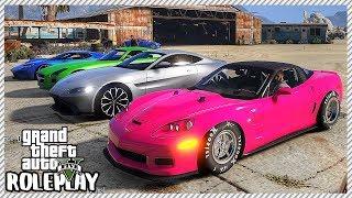 GTA 5 Roleplay - Drag Corvette ZR1 'DESTROYS' Expensive Supercars | RedlineRP #375