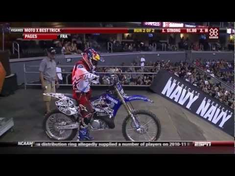 Special Flip -Tom Pages- X Games Moto X Best Trick 2012