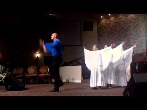 Created to Praise ministering at Apostolic Tabernacle Merced  the Song 'Arise'  by William McDowell