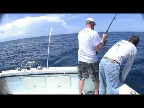 Deep sea fishing with Incentive Charters off Sebastian Inlet