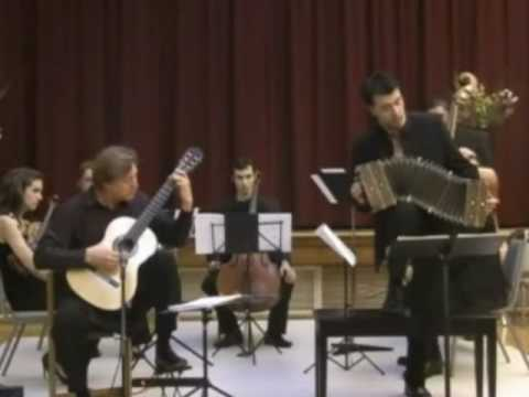 Jason Vieaux&Julien Labro Piazzolla's Double concerto for bandoneon, guitar&string orchestra