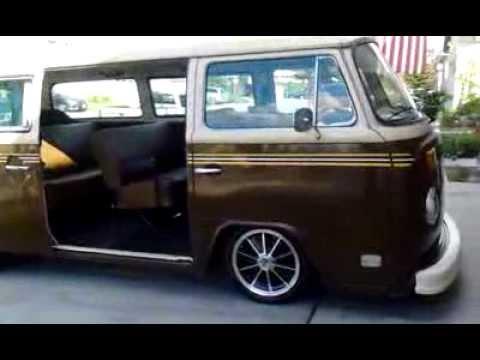 1978 slammed volkswagen bus youtube for 16 window vw van