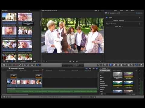 Курсы видеомонтажа (режиссура монтажа) FCP X. №5 Продолжение отбора кадров