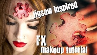 Missing Puzzle Piece FX Makeup Tutorial