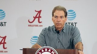 Nick Saban begins Alabama-LSU game week - Full press conference