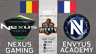 (RO CS:GO) NEXUS (RO) vs. ENVYUS ACADEMY (FR) - AOC $4000 CS:GO CUP