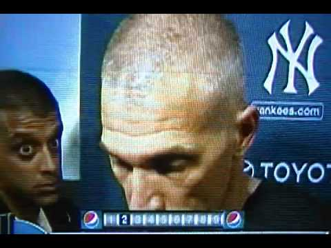 New York Yankees Manager Joe Girardi Screams Back At Heckling Fan!
