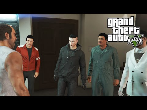 GTA 5 PC Online Heist - Trevor's Birthday (Series A Funding Part 1)