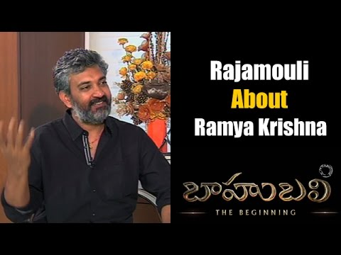 Rajamoli about Ramya Krishna   Bahubali   NTV Exclusive interview Photo Image Pic