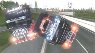 ETS2 Multiplayer - Idiots on Road #2 (Euro Truck Simulator 2 Multiplayer)