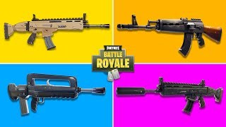 What Is The Best AR in Fortnite?