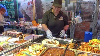Tex - Mex Colourful Burritos. London Street Food