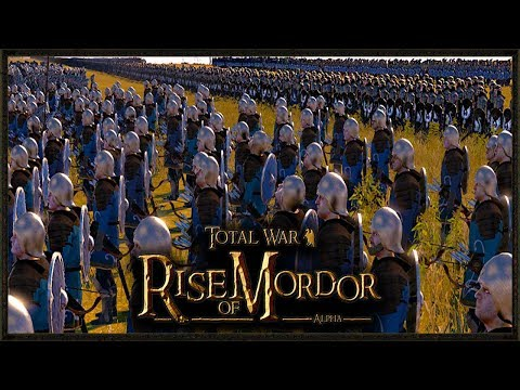 The Last Alliance's BIGGEST Battle LOTR - Rise Of Mordor Total War Gameplay