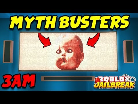 Roblox Jailbreak Mythbusters - 3:00 AM APARTMENT EASTER EGG!