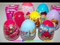 10 Huevos Sorpresa-Surprise Eggs| Angry Birds,Cars,Planes,Sofia The First,Spider Man Hello Kitty