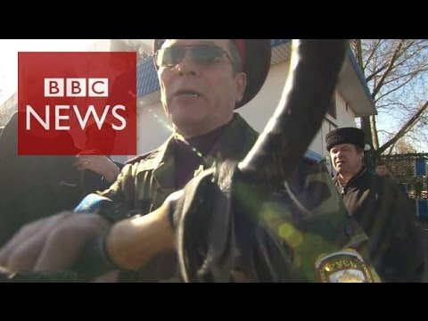 BBC visits 'besieged' naval base - BBC News