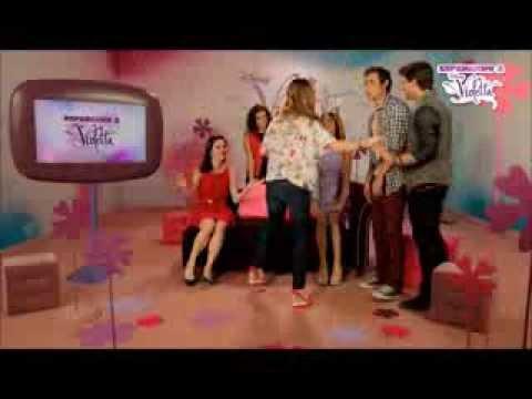 Las Mejores escenas de Amor Violetta1
