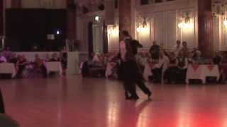 2013 Aug - Jolanta and Adrian dance canyengue to Lorenzo at Cheltenham Town Hall