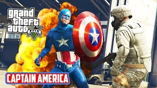 GTA 5 PC Mods - CAPTAIN AMERICA MOD!!! GTA 5 Captain America Mod Gameplay! (GTA 5 Mods Gameplay)