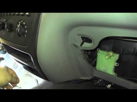 2001 Ford Taurus Blend Door Actuator Operation