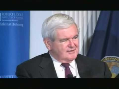 An Evening with Newt Gingrich - Dole Institute of Politics