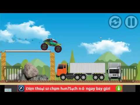 Monster Truck Game for Kids