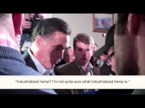 romney doesn 39 t know what hemp is