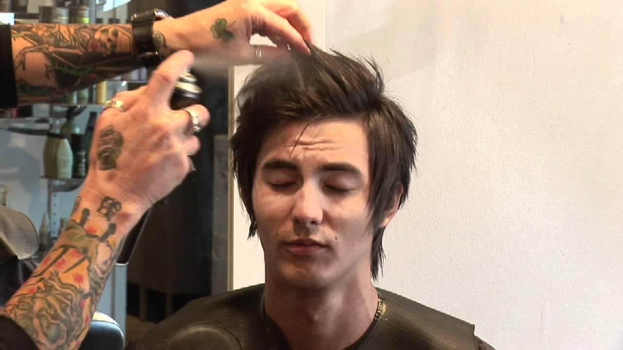 Hair Care For Men How To Style Medium Hair For Men Youtube