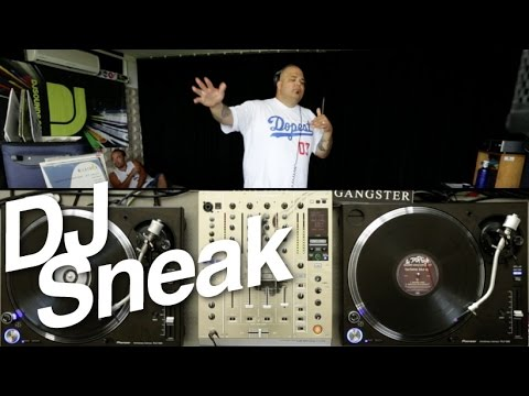 DJ Sneak live 90s mix on vinyl - DJsounds Show 2014
