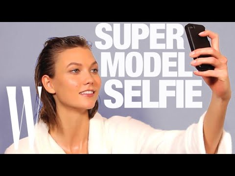 How to Take a Selfie Like a Supermodel