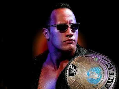 music the rock wwe