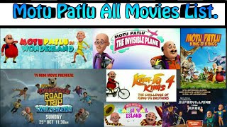 Motu Patlu All Movies List|Yomoro glandz.