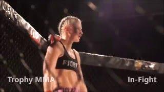Camilla Hinze vs Veronica Macedo - Trophy MMA