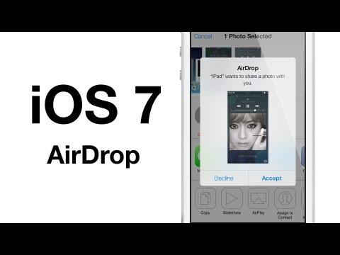 iOS 7 beta 2: AirDrop
