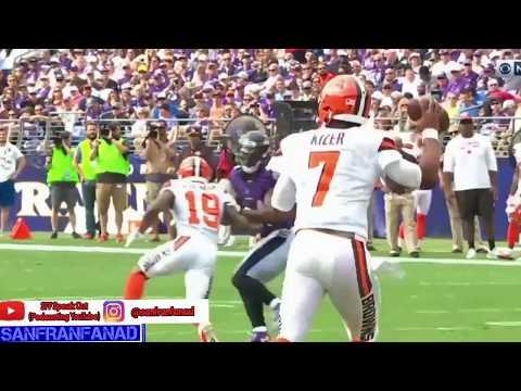 Ravens Defense vs Browns (NFL Week 2) - Strong! | 2017-18 NFL Highlights HD