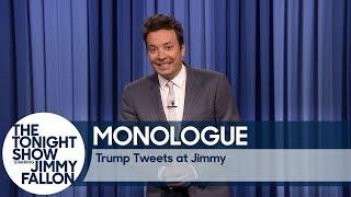 Trump Tweets at Jimmy - Monologue
