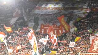 You´ll never walk alone. Liverpool - Real Madrid (14/15)