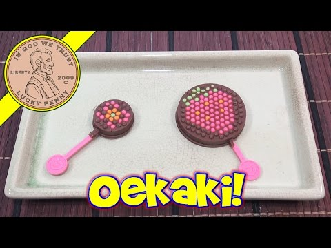 Oekaki Stick Chocolate Japanese DIY Kit